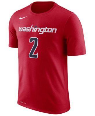 Nike Men's John Wall Washington Wizards Name1 & Number Player T-Shirt - Red XXL