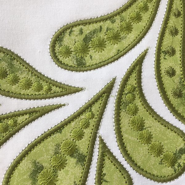 713 best Machine Embroidery images on Pinterest | Embroidery ideas, Machine embroidery applique ...