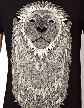 Image 3 - Supremebeing - T-shirt motif crinière de lion