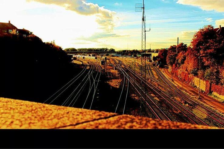 Aarhus train yard hdr