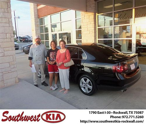 Congratulations to Frederico Esparza on the 2008 #Volkswagen #Jetta
