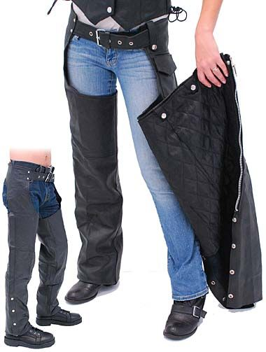 Classic Motorcycle Chaps with Zip Out Linings - Special