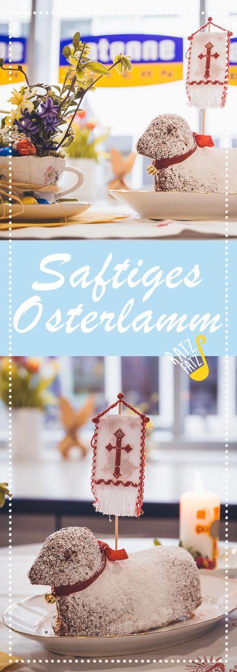 """Traditionell gibt's bei vielen an Ostersonntag den Osterlamm-Kuchen und ebenfalls traditionell ist er bei fast allen staubtrocken! Dieses Jahr nicht! Denn ANTENNE BAYERN-Hörerin Silvia Schlögel, Landwirtin und Kochlehrerin von """"Die Hauswirtschafterei"""" aus Peiting in Oberbayern, hat das Geheimrezept für das saftigste Osterlamm der Welt!"""