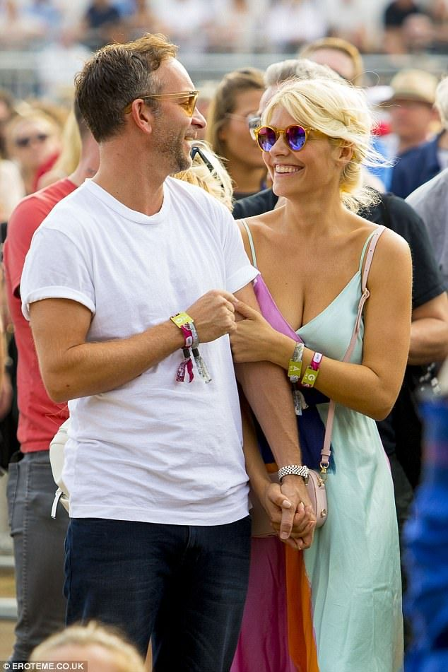 They've been married for ten years - but Holly Willoughby and her husband Dan Baldwin still appear to be very much in the honeymoon period.