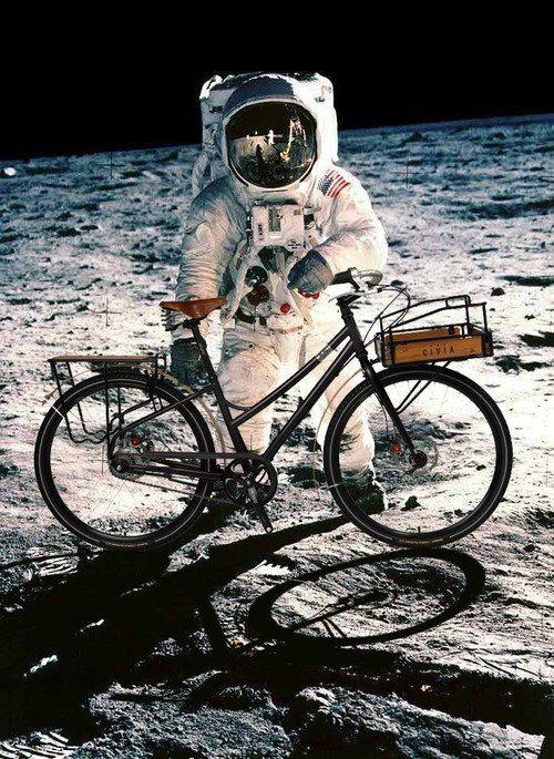 You can go anywhere on a bike!