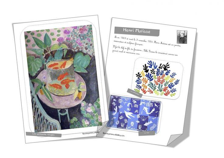 Fiche artiste : Henri Matisse - Bout de gomme