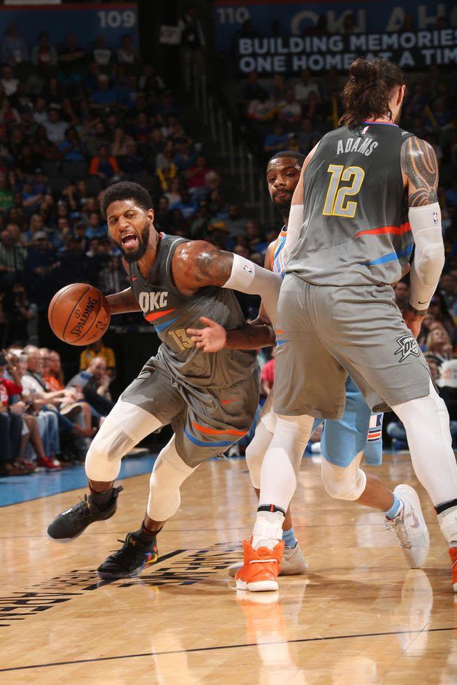 Wearethunder La Clippers V Oklahoma City Thunder Thunder Basketball Okc Thunder Oklahoma City Thunder