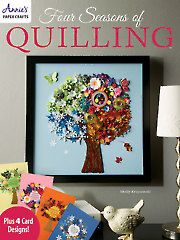 Card Paper Crafts - Four Seasons of Quilling - #701067