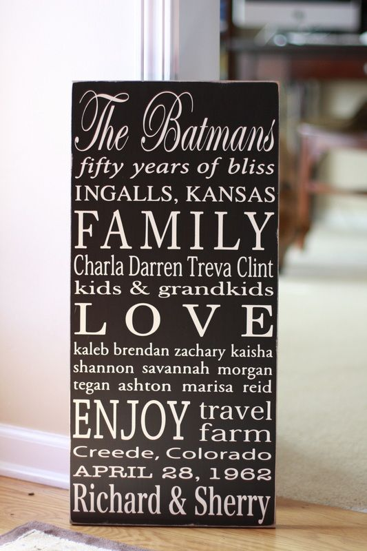 55 best 55th anniversary party ideas images on for Gifts for parents on anniversary