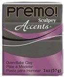 Premo Sculpey Graphite Pearl, 2 oz bar, PE02 5120