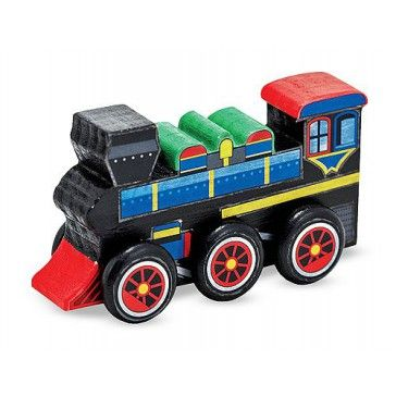 Melissa & Doug Create A Craft Wooden Train