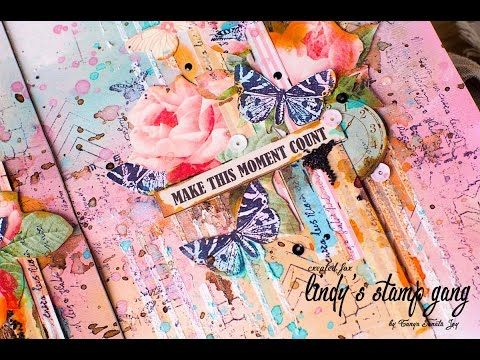 Art Journal Inspiration by Tanya SonataJoy - YouTube