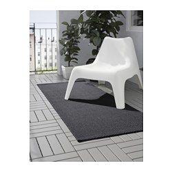 IKEA - MORUM, Teppich flach gewebt, Auch für draußen geeignet - hält Regen, Sonnenlicht, Schnee und Verschmutzung stand.Ist der Teppich nass, kann er zum Trocknen über eine Teppichstange gehängt oder locker aufgerollt und dann aufrecht hingestellt werden.