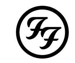 Resultado de imagem para foo fighters logo