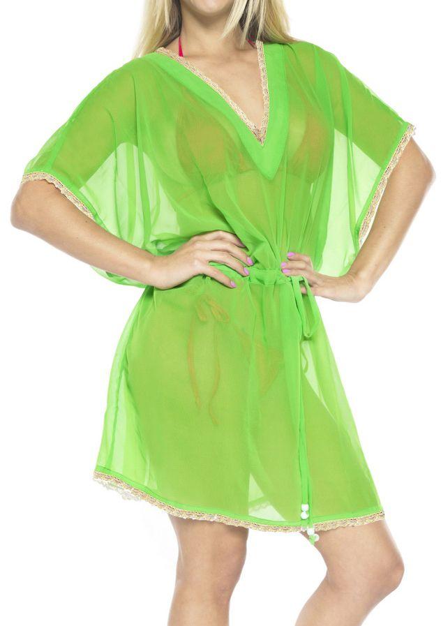 de528c971d2 Women s Chiffon Beachwear Kimono Swimwear Swimsuit Bikini Cover ups Blouse  Kimono
