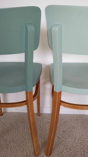 chaises bistrot Thonet revisitées -★- diy #PaintedChair