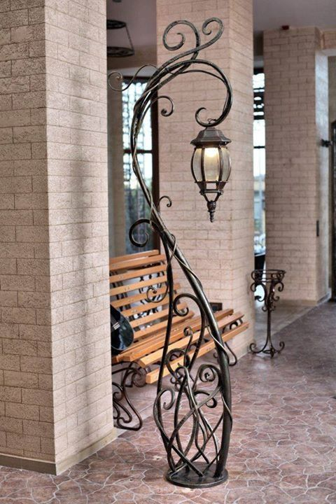 Ferforge By Bleu Iron Decor Wrought Iron Decor Lamp Design