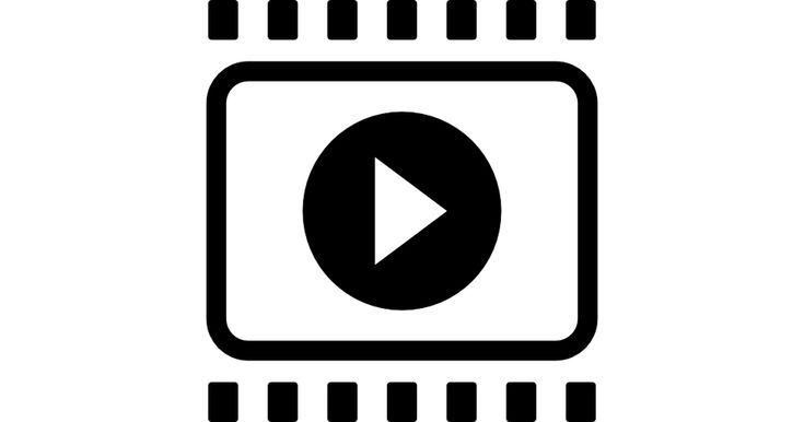 Film strip with right arrow interface symbol free vector icons designed by Freepik
