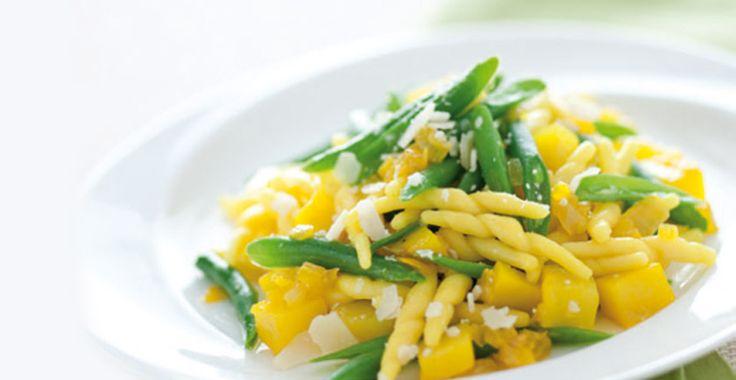 Ricetta con trofie, fagiolini, patate e zafferano