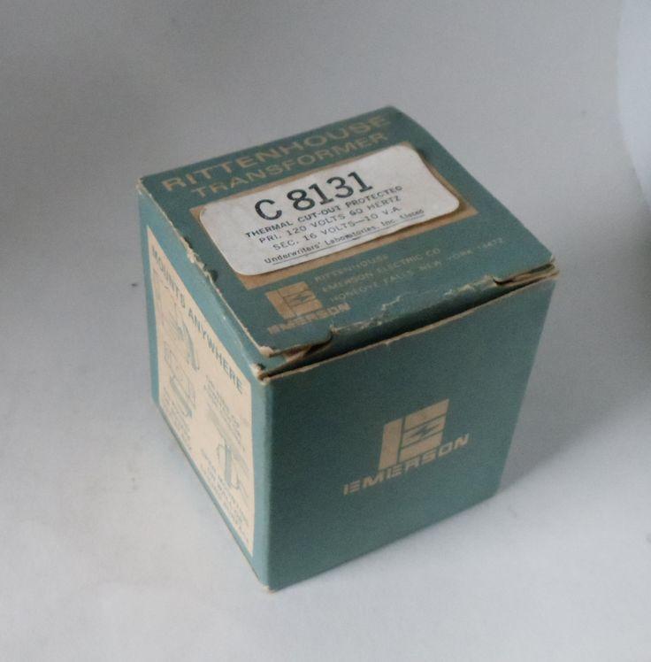 Vintage Rittenhouse Doorbell Transformer Model C 8131 by OskarsOddities on Etsy