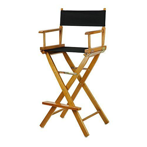Discover a variety of uses for this classic-style Director's Chair. Constructed with 100% solid wood, this portable Director's Chair is built for lasting strength. Remove the footrest and the foldable design makes transportation a breeze–meaning you can move it from room to room or t... more details available at https://furniture.bestselleroutlets.com/game-recreation-room-furniture/directors-chairs/product-review-for-casual-home-30-directors-chair-honey-oak-frame