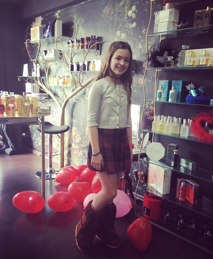 Rosina Perfumery   Our sweet @cat_pal_  at #rosinaperfumery