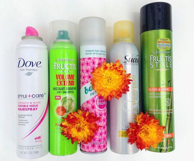 Current Favorites: Dry Shampoo & Hairspray few. Batiste, Garnier, + more!