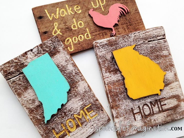 Here are some easy wood signs to make with a Dremel. Make a little inspiration for your home or a great gift to give! #MyBrilliantIdea #CleverGirls