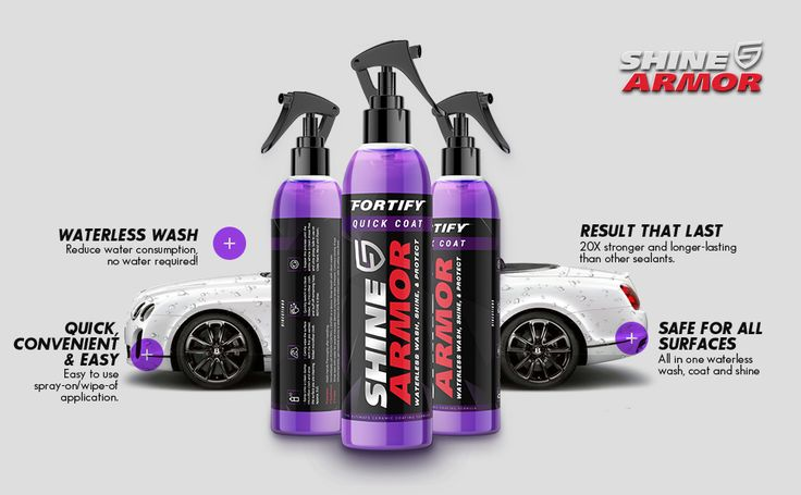 Shine Armor Discount & Review in 2020 Car wax, Waterless