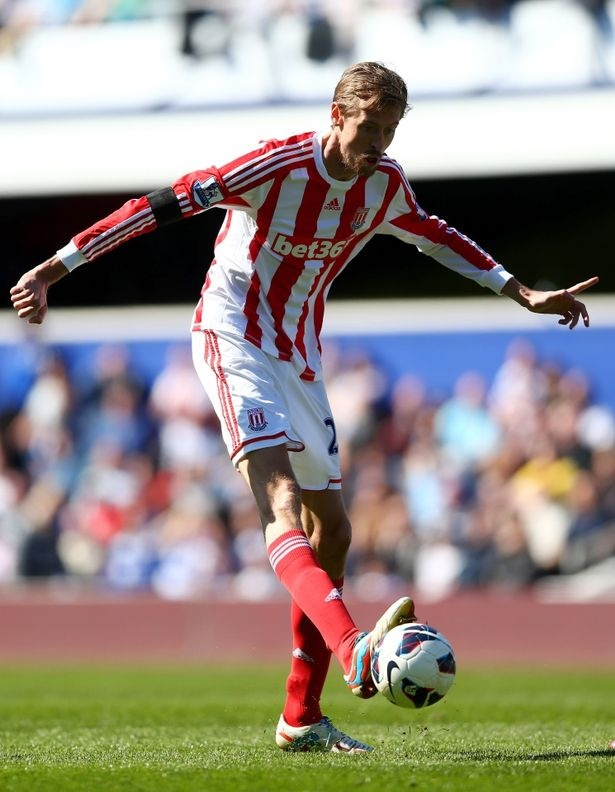 ~ Peter Crouch of Stoke City ~