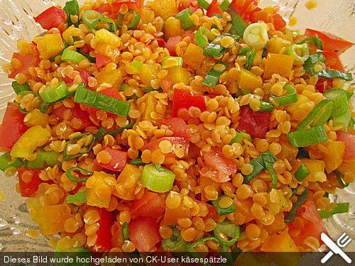 Die besten 25+ Rote linsen salat Ideen auf Pinterest Rote linsen - leichte k che einfache rezepte