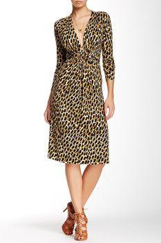 Rachel Pally Long Sleeve Printed Caftan Dress
