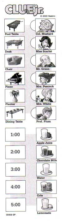 Epic image pertaining to clue printable sheets