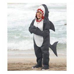 Shark Costume http://creative-halloween-costumes.happy-holidays.net/creative-halloween-costumes/finding-nemo-costumes