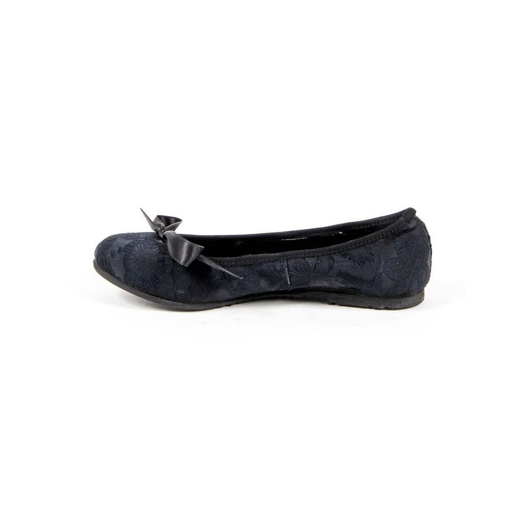 Dark Blue 35 IT - 5 US Versace 19.69 Abbigliamento Sportivo Srl Milano Italia Womens Ballerina E08 TESSUTO BLU