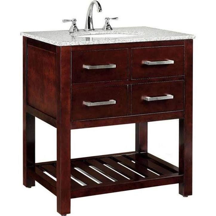 discount bathroom vanities | Granite vanity tops, Marble ...