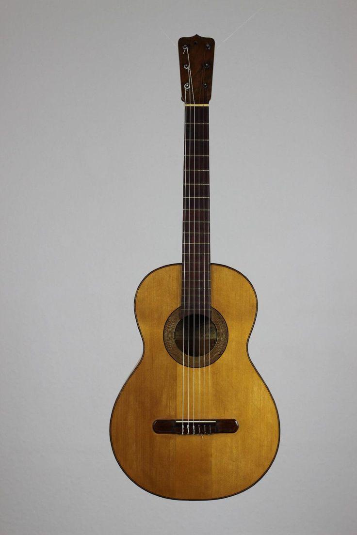 Jose Ramirez I – 1905 Flamenco Guitar Siccas Guitars | eBay