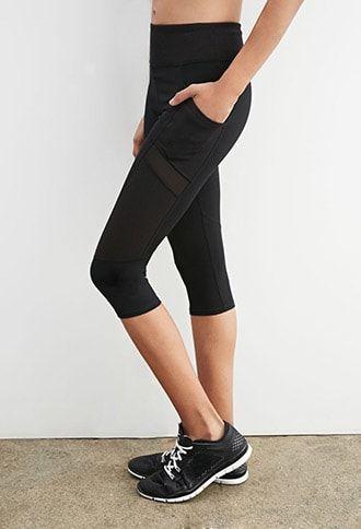 Active Textured Capri Leggings
