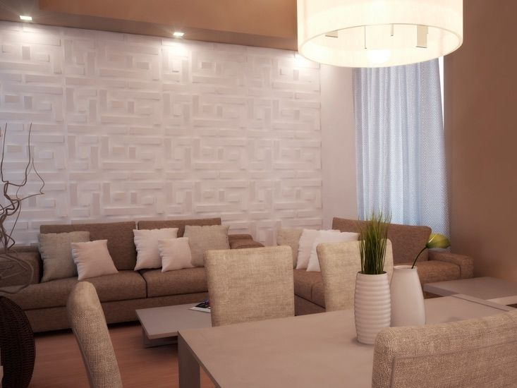 Yeso decoracion de interiores - Paredes en 3d decoracion ...