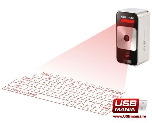 Tastatura Virtuala Magic Cube