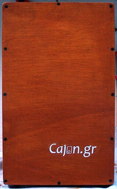 NEW!!! Cajon.gr, great sound, ideal for acoustic bands, smoothie sound feeling.Nanotechnology paint protection. Lifetime guarantee!