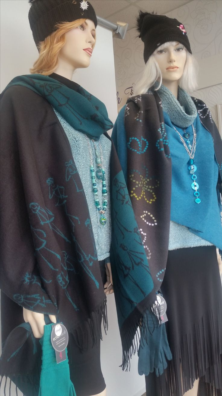 We're getting winter ready with all these super cozy ponchos!