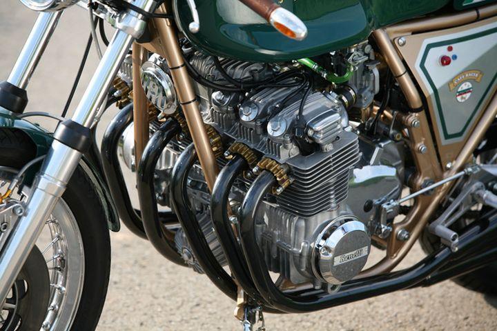 Inline 6 cylinder! Benelli #CafeRacer 750 Sei by Julius Bott. Esta #Benelli de seis cilindros es una auténtica racer con la que podrás rodar con mucha clase | caferacerpasion.com