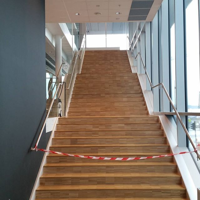 Best Hard Work To Sanding The Stairs Gulv 640 x 480