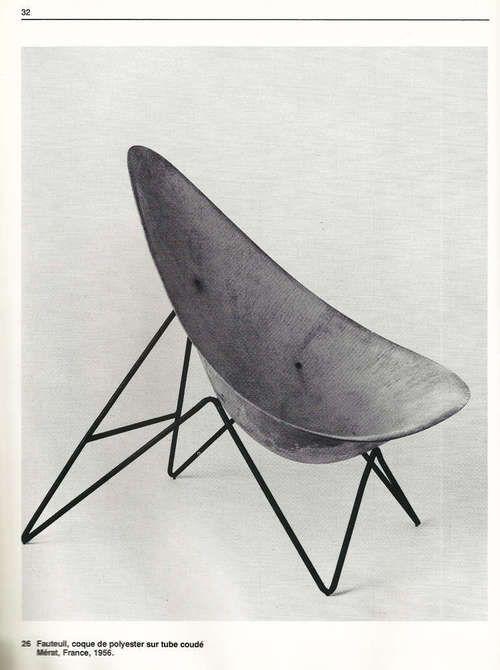 Vintage - Fauteuil,Mérat - France 1956 | armchair . Sessel . fauteuil | Inspiration @ Modern Love |