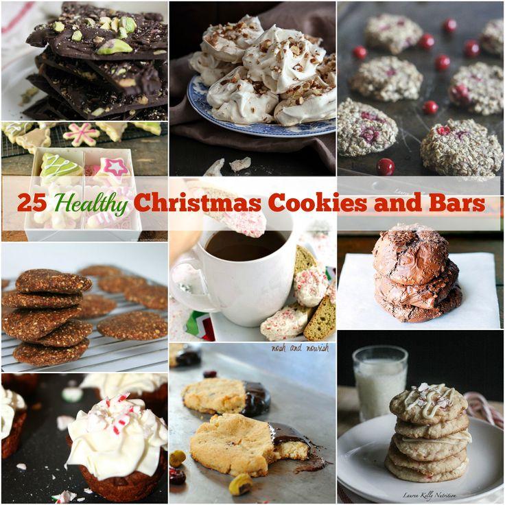 25 Healthy Christmas Cookies and Bars