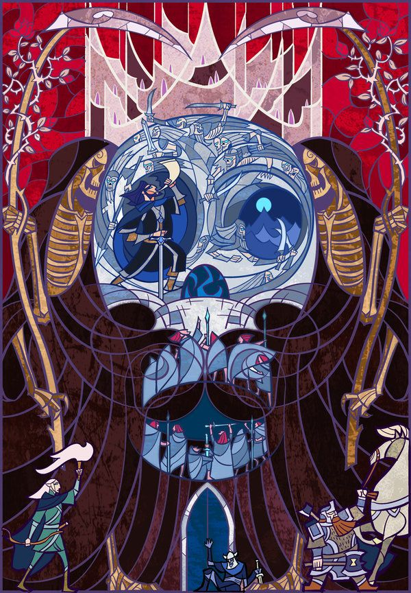 Paths of the Dead by breathing2004.deviantart.com on @deviantART