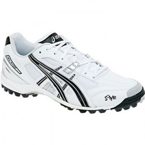 Asics Gel-V Cut Lacrosse Cleats Mens White - ONLY $84.99