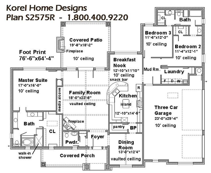 1000 images about house plans on pinterest courtyard for House plans by korel home designs