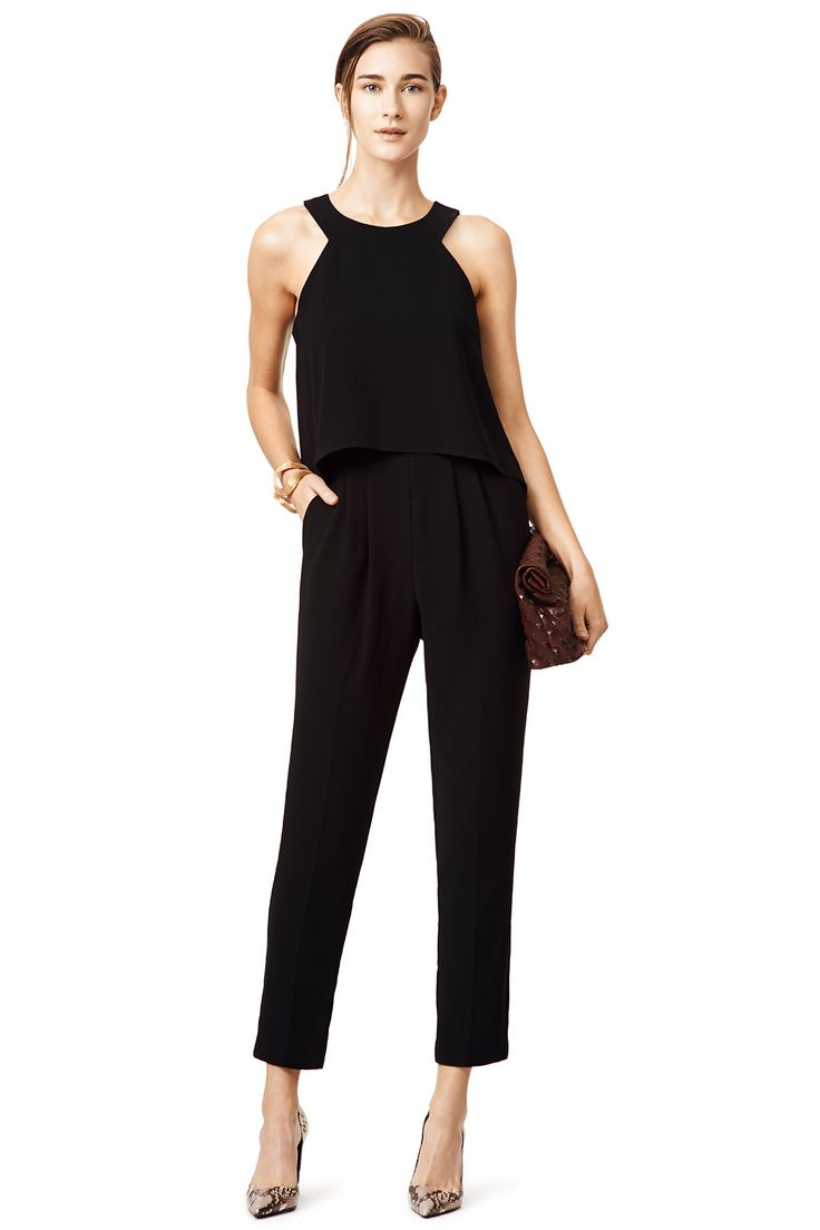 Rent Black Anchors Jumpsuit by Trina Turk for $60 only at Rent the Runway.